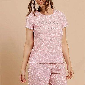 Pijama Capri Estampa Animal Print