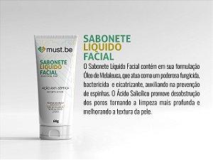 Sabonete líquido facial