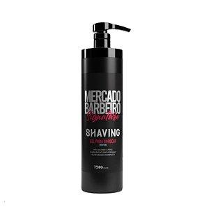 Shaving gel Mercado Barbeiro Signature - 750g