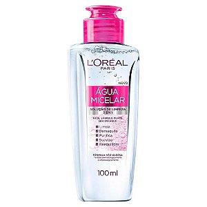 Água Micelar Solução de Limpeza 5 em 1 L'Oréal Paris