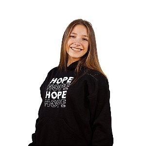 Moletom Hope Preto