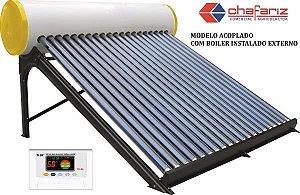 Aquecedor Solar Acoplado 200 Litros
