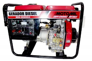 Gerador de Energia a Diesel 6,5KVA Motomil