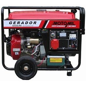 Gerador de Energia a Gasolina 8KVA Motomil