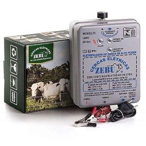 Eletrificador Cerca Rural 80km Zk80 C/reg Zebu