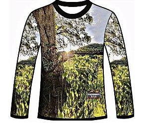 Camiseta Camuflada Manga Longa Caçadores Brs Atirador - 03