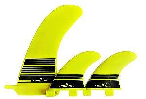 Quilhão e estabilizadoras SO1 Soul Fins Amarelo Fluor