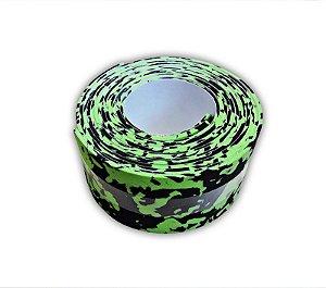 Protetor de borda Soul Fins Verde Mesclado Verde/Preto