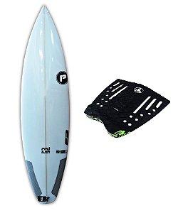 Prancha Surf Shotboard 5'11 Pró ilha Pro-Rader2 Sistema encaixe padrão FCS1