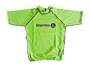 Camiseta de Lycra Soul Fins UV Protection 50+ / Manga Curta Verde