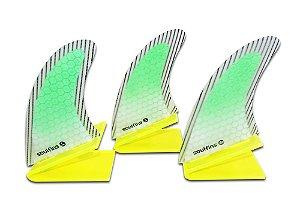 Triquilha Soul Fins Padrão FCS M3 Verde