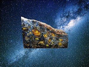 Meteorito Siderólito Palasito