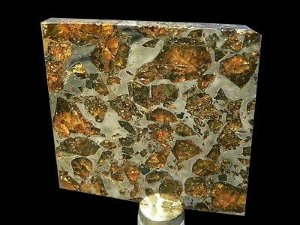 Meteorito Siderólito Palasito (Raro)
