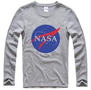 Blusa NASA - Cinza