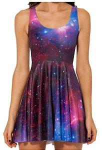 Vestido Curto - Nebulosa