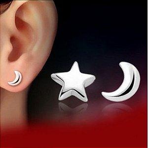 Brinco Estrela e Lua