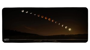 Mouse Pad Gamer - Eclipse Lunar