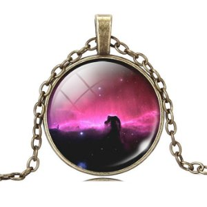 Colar Nebulosa Cabeça de Cavalo