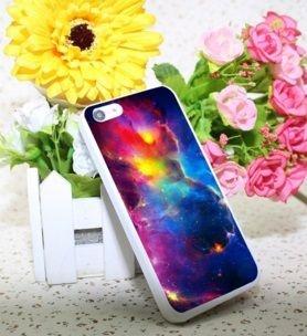 Capa para Celular IPhone 5C: Tema Nebulosa