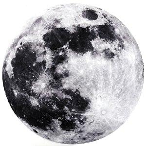 Tapete Lua Cheia - Veludo Metálico