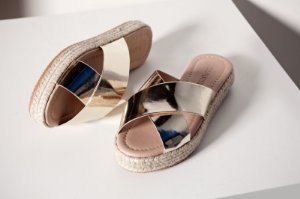 ESPADRILE - 1161 - OURO LIGHT