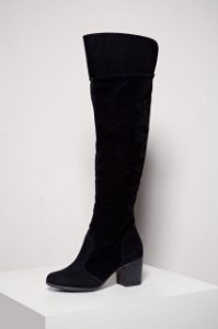 BOTA - 790 - OVER THE KNEE - PRETO