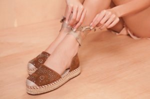 ESPADRILE - 2696 - TREND CHOCOLATE