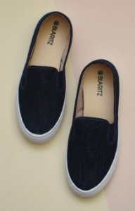 SLIP ON - 6007 - JEANS ESCURO