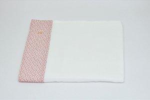 Toalha Fralda - Floral botão