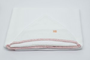 Toalha Capuz - Floral botão