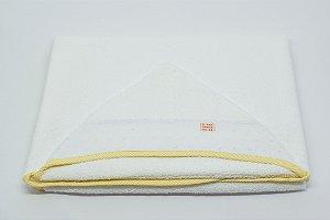 Toalha Capuz - Amarelo listra