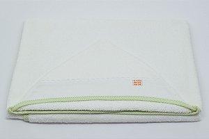 Toalha Capuz - Verde listra