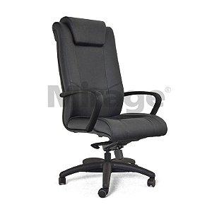 Cadeira Escritório Giratória Boss Presidente Preta
