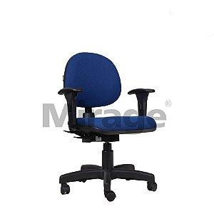 Cadeira Escritório Giratória Eco Secretária Executiva Preta