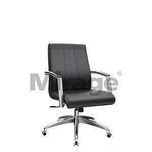 Cadeira Executiva Giratória Berlim Diretor Alumínio