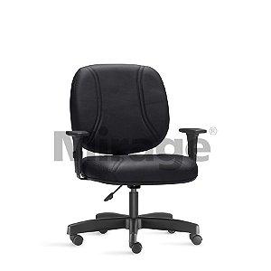 Cadeira Escritório Obeso Max Diretor Preta