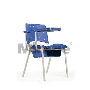 Cadeira Escolar Fixa Mind com Prancheta