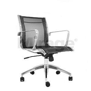 Cadeira Escritório Giratória Skynet Diretor Preta