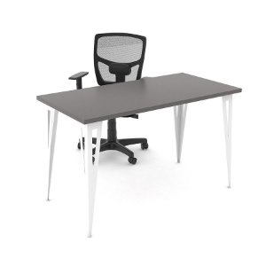 Mesa Mirage Prisma para Home Office Profundidade 80cm