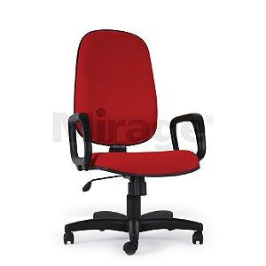 Cadeira Escritório Giratória Pop Presidente Preta