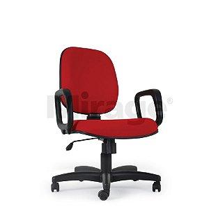 Cadeira Escritório Giratória Pop Diretor Preta