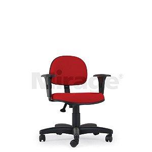 Cadeira Escritório Giratória Pop Secretária Preta