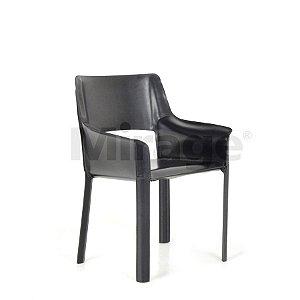 Cadeira Escritório Fixa Classic Diretor Recouro Com Braço