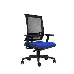 Cadeira Escritório Giratória Versalhes Diretor Preta