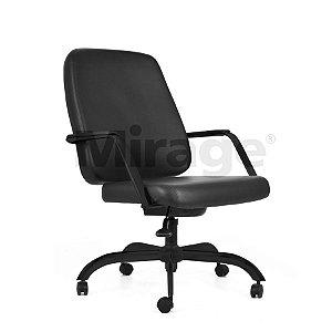 Cadeira Escritório Giratória Max Diretor Preta