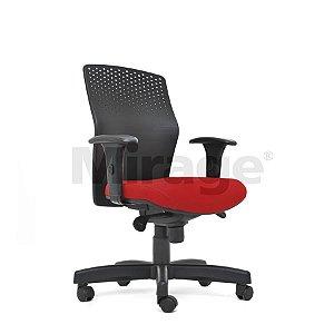 Cadeira Escritório Giratória Zaire Diretor Preta