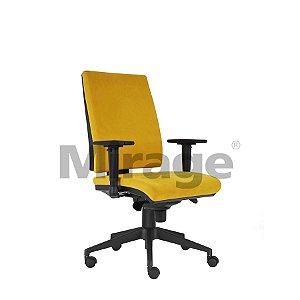 Cadeira Escritório Giratória Veneza Presidente Preta Certificada