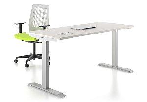 Mesa Home Office com Regulagem de Altura