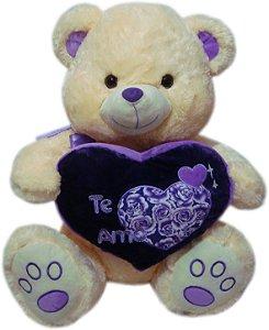Urso Gigante Com Coração Te Amo