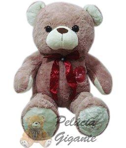 Urso Bob love com laço